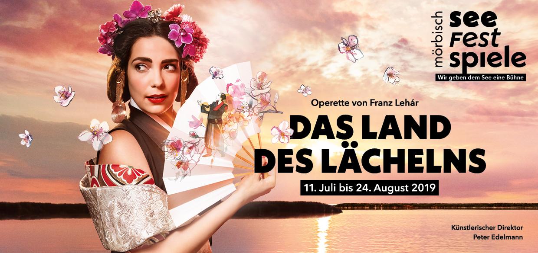 Foto: seefestspiele-moerbisch.at, 2019: Das Land des Lächelns